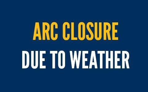 ARC closure due to weather