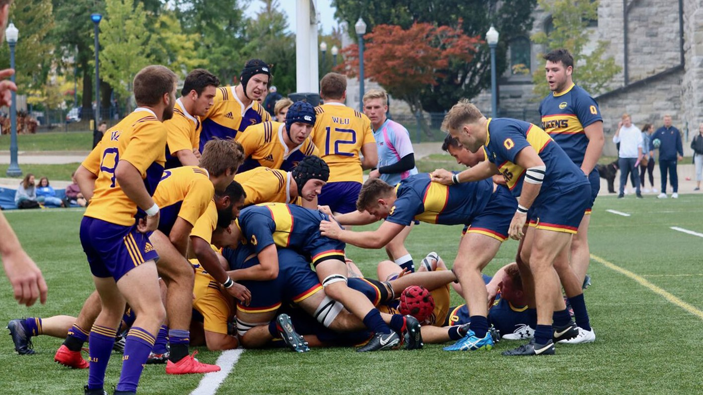 Gaels Late Surge Propels Them To 55 22 Win Over Laurier