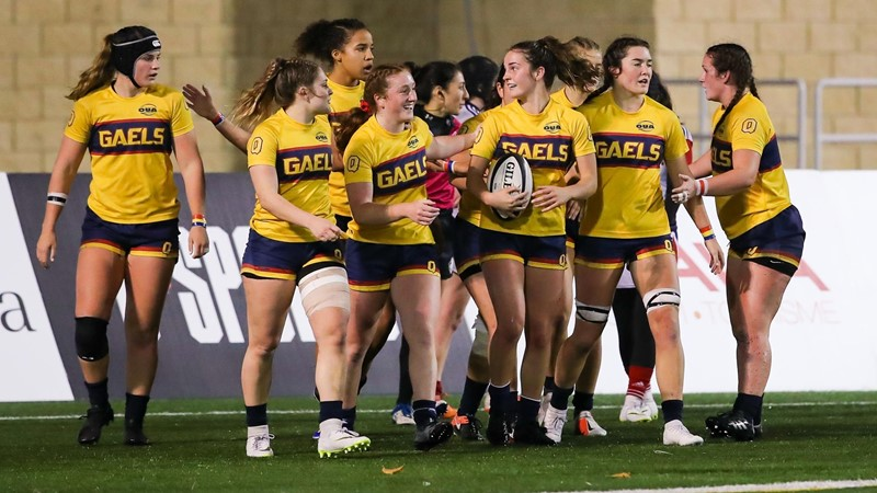 Second half surge against Acadia sends Gaels to U SPORTS semifinal
