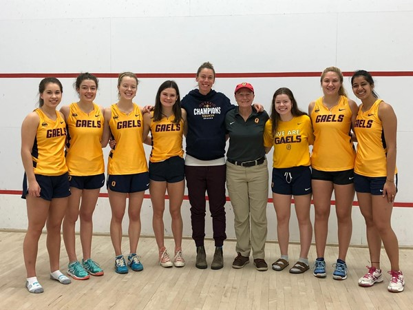 Varsity Club Weekend Recap: James Crook and Heather McLachlan lead Gaels squash at second Jesters East Sectional