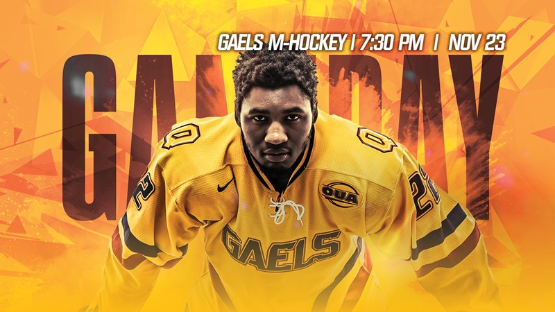 Gaels This Week: Men's hockey host McGill for Teddy Bear Toss, Gaels basketball in action against Toronto and Ryerson