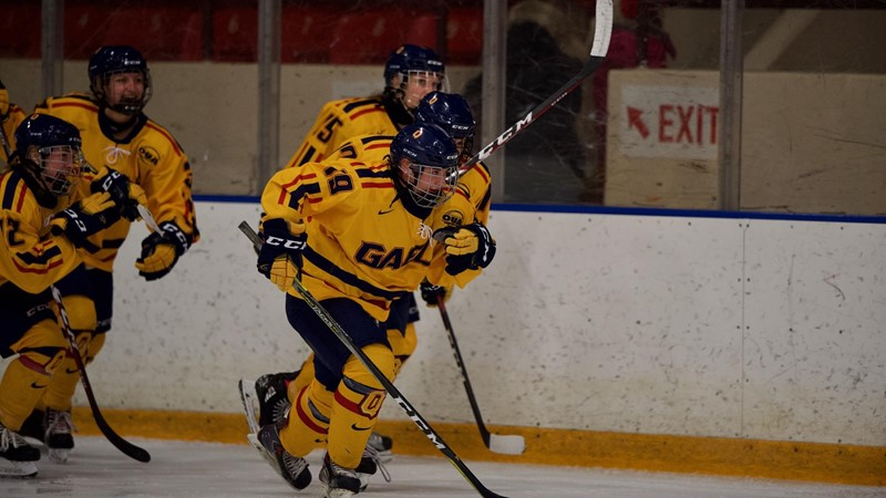 Gaels hold off Voyageurs comeback, defeat Laurentian 2-1 Friday night