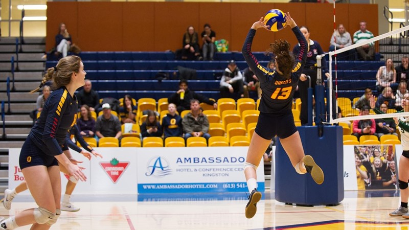 Colpitts sets career high with 45 assists as Gaels win 3-1 over Lakehead
