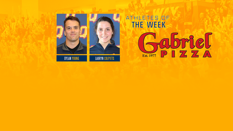 Young and Colpitts named Gabriel Pizza Varsity Athletes of the Week