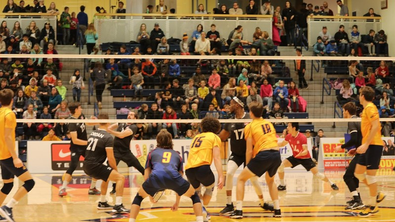 School Day capacity crowd sees Gaels take on Volleyball Canada National Excellence Program