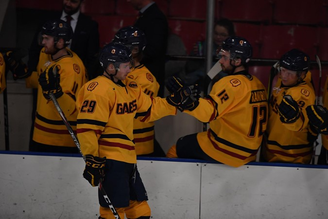Gaels last game of 2019 ends with shutout win over the Laurentian