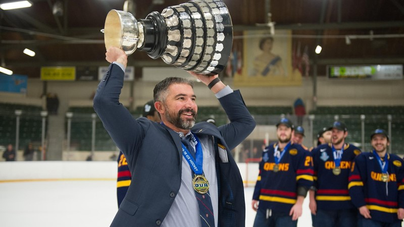Gaels head to University Cup as No.3 seed, will meet StFX Friday night - Queen's University Athletics