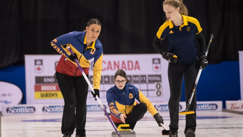 Gaels finish fourth at U SPORTS Curling, claim three All-Canadian award honours - Queen's University Athletics