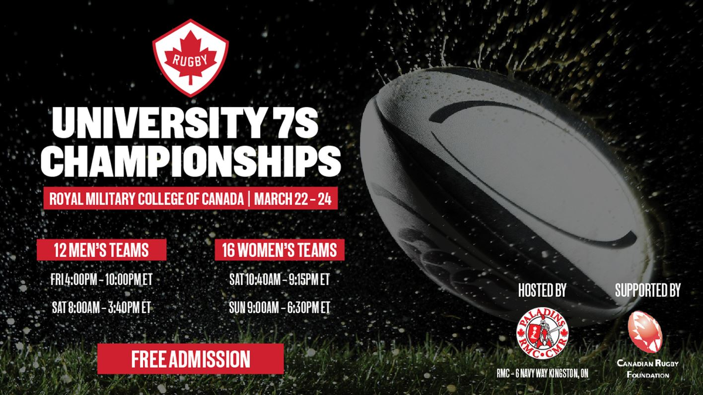 Gaels Rugby Programs Enter Rugby Canada University 7s Championship