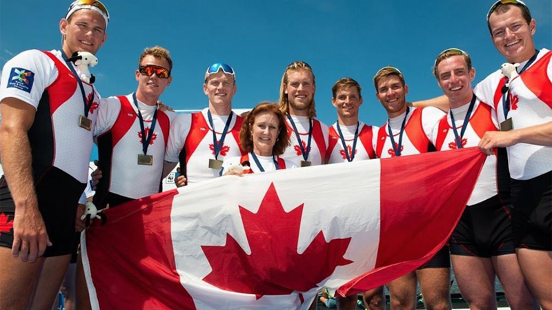 Stone wins World Rowing Cup 2 Bronze with Canadian Men's Eight