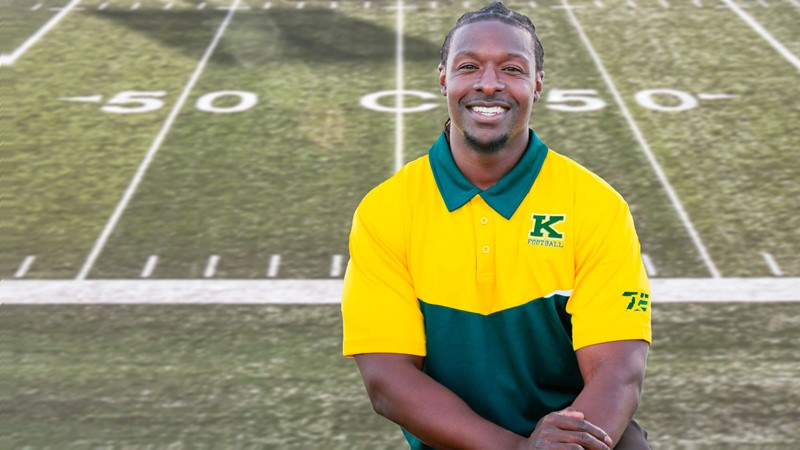 Kwame Osei joins the staff of Queen's Gaels football as Receivers Coach.