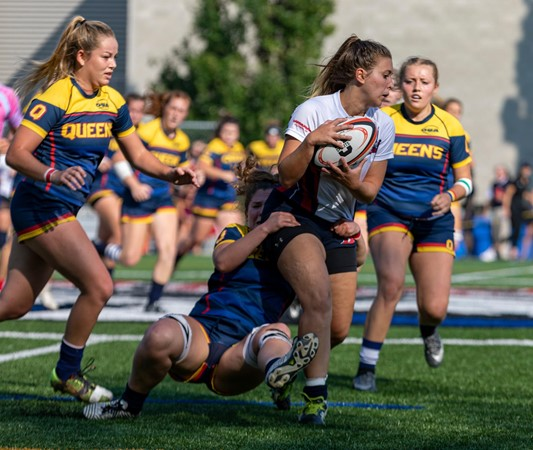 Gaels earn blowout 82-7 victory over the Brock Badgers